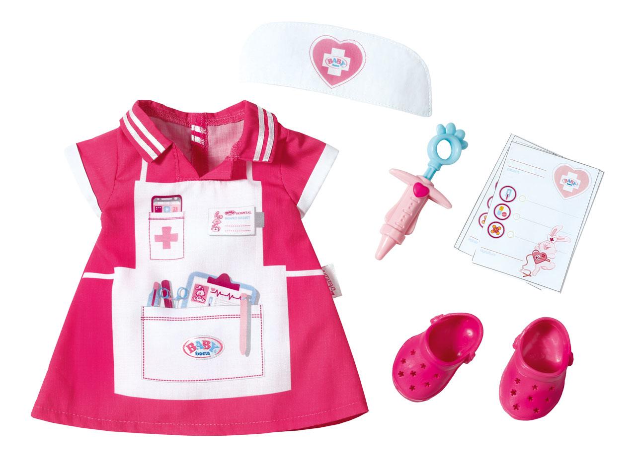baby born nurse set baby born prima toys