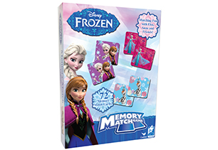 Disney Girls Memory Match Game