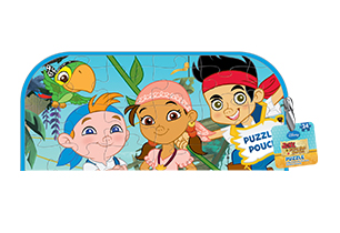 Jake And The Neverland Puzzle In Pouch