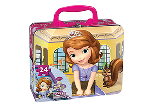 Sofia The First Puzzle In Lunch Tin