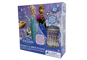 Frozen Sparkle & Shine Puzzle