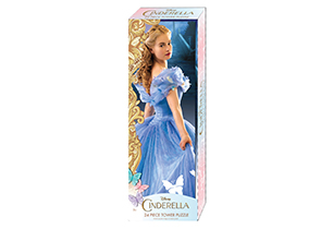 Cinderella Mini Tower Puzzle