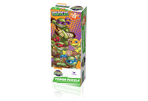 Teenage Mutant Ninja Turtles Half Shell Heroes Mini Tower Puzzle