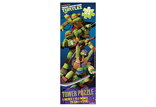 Teenage Mutant Ninja Turtles Mini Tower Puzzle