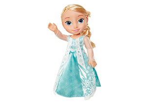 Frozen Doll With Lens Eye