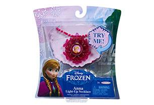 Frozen Light Up Necklace Assorted