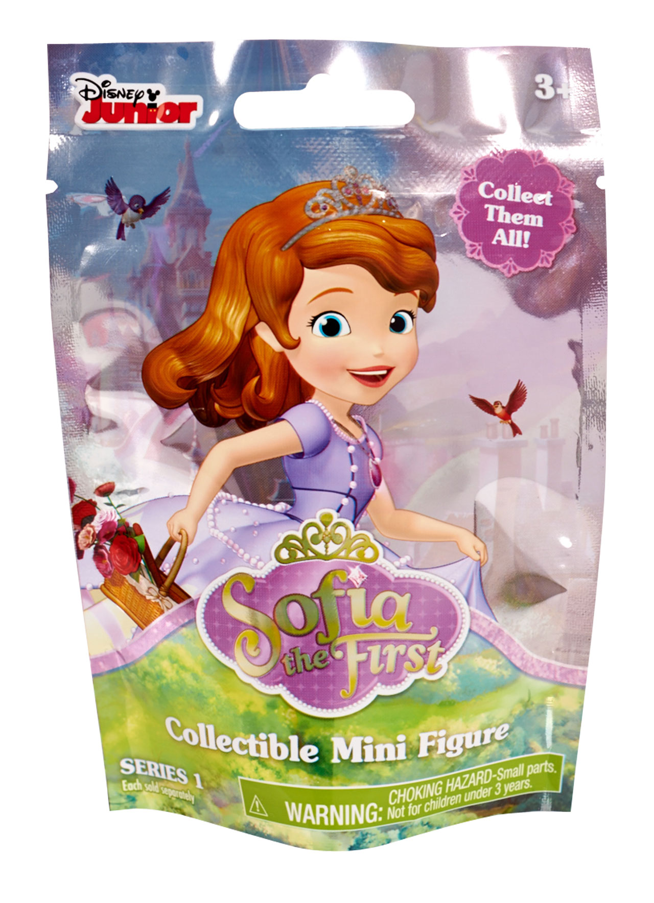 Sofia Figures In Foil Pack Sofia The First Prima Toys