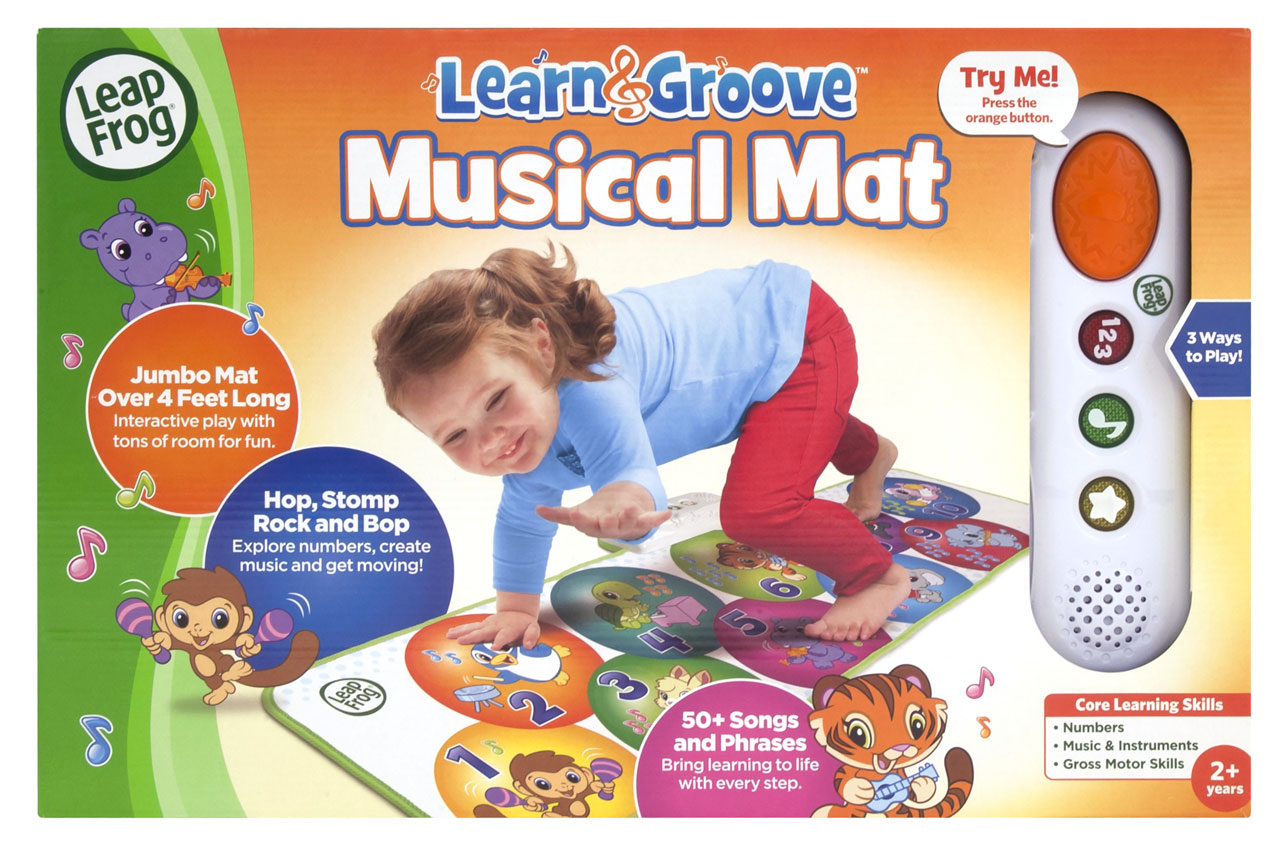 Leapfrog Learn And Groove Musical Mat Prima Toys Farm Music Playmat