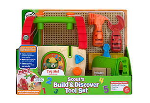 LeapFrog Build & Discover Toolbox