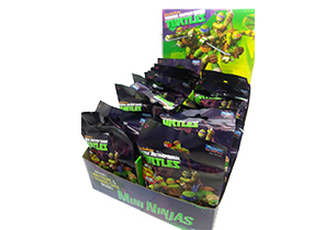 Teenage Mutant Ninja Turtles Mini Figure In Foil Pack