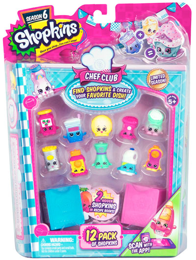 Shopkins Chef Club 12 Package