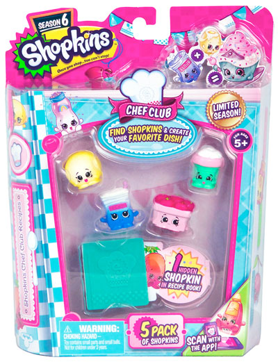 Shopkins Chef Club 5 Package