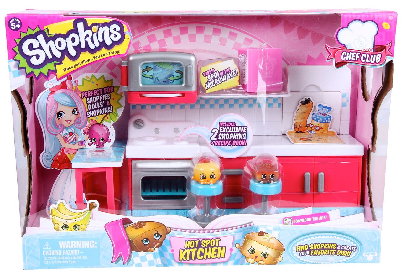 Shopkins Chef Club Hot Spot Kitchen Shopkins Chef Club