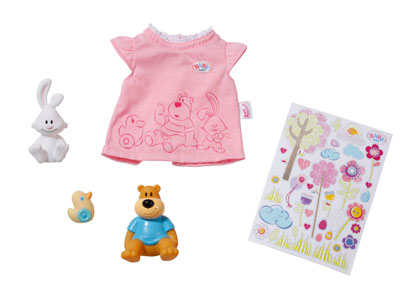 Baby Born Toy Set With Characters