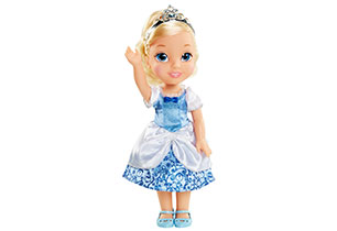 Disney Princess Doll With Lens Eyes