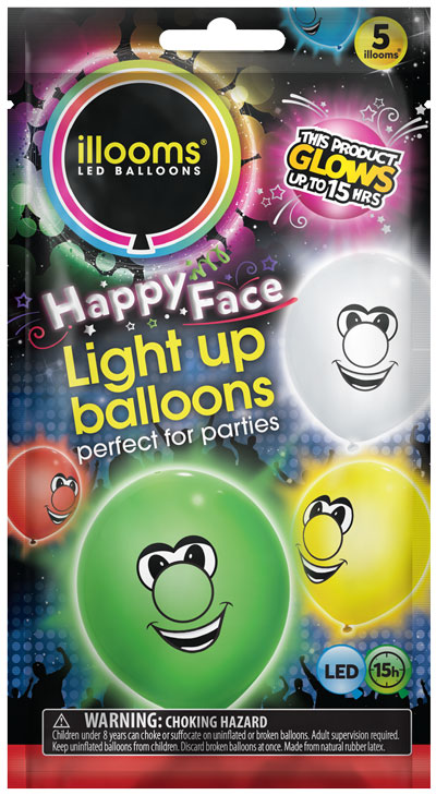 Ilooms Light Up Balloons Faces And Wild Animals