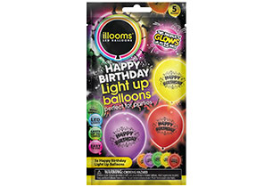 Ilooms Light Up Happy Birthday