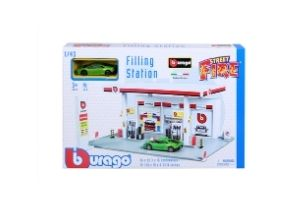 Bburago Street Fire Filling Station
