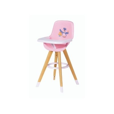 Baby Born Highchair With Wooden Legs