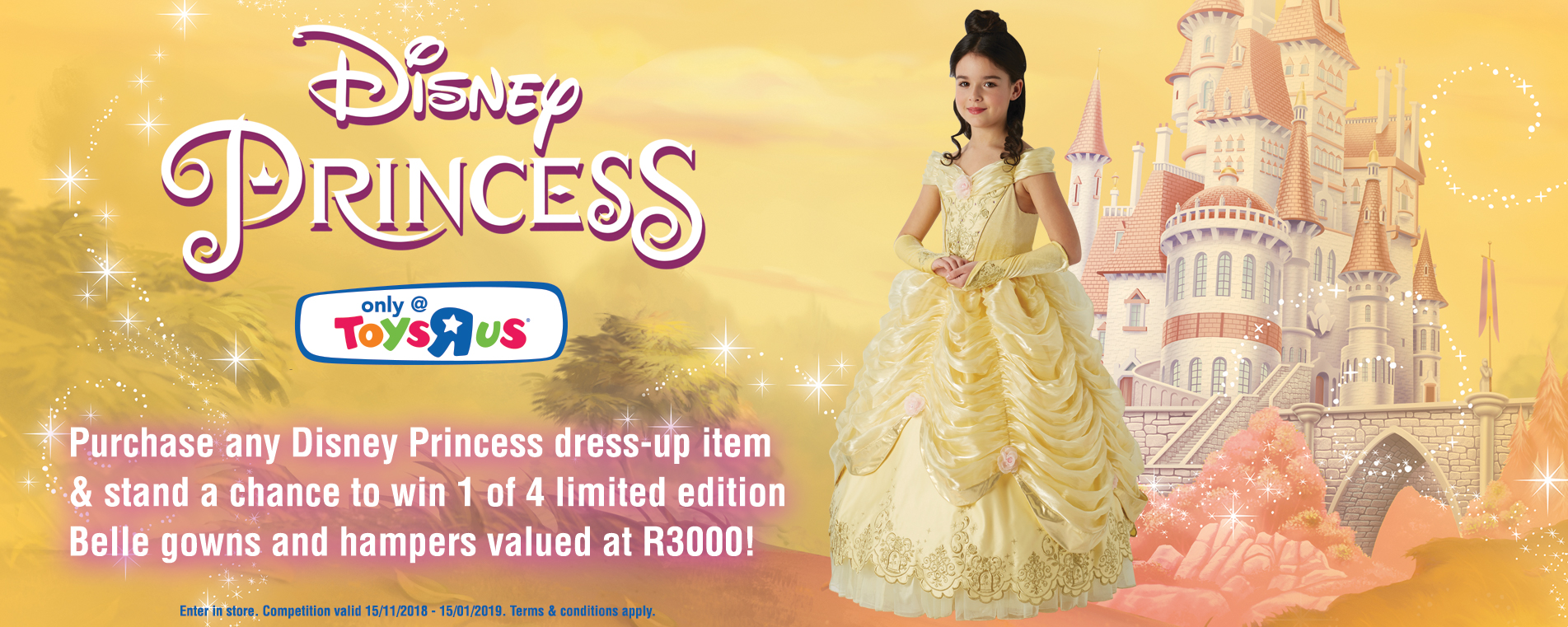 Disney Princess Dress Up Belle