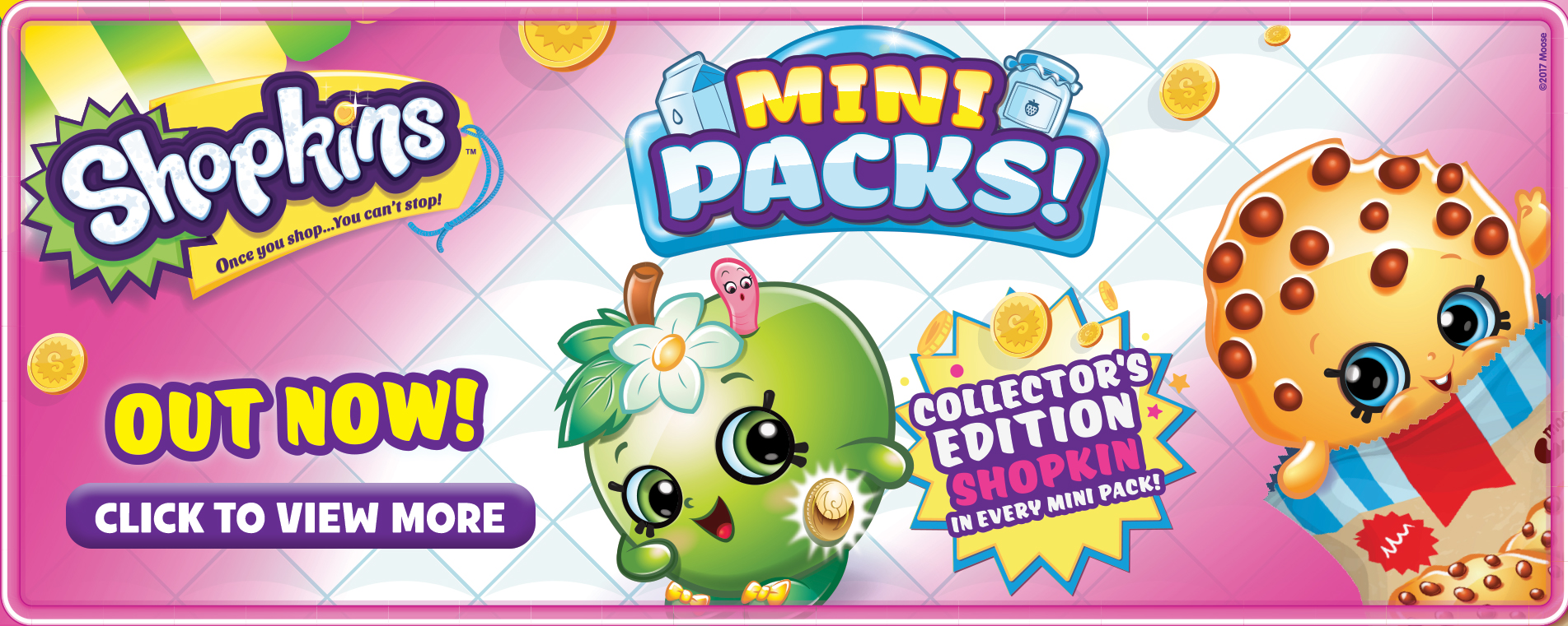 Shopkins Mini Packs