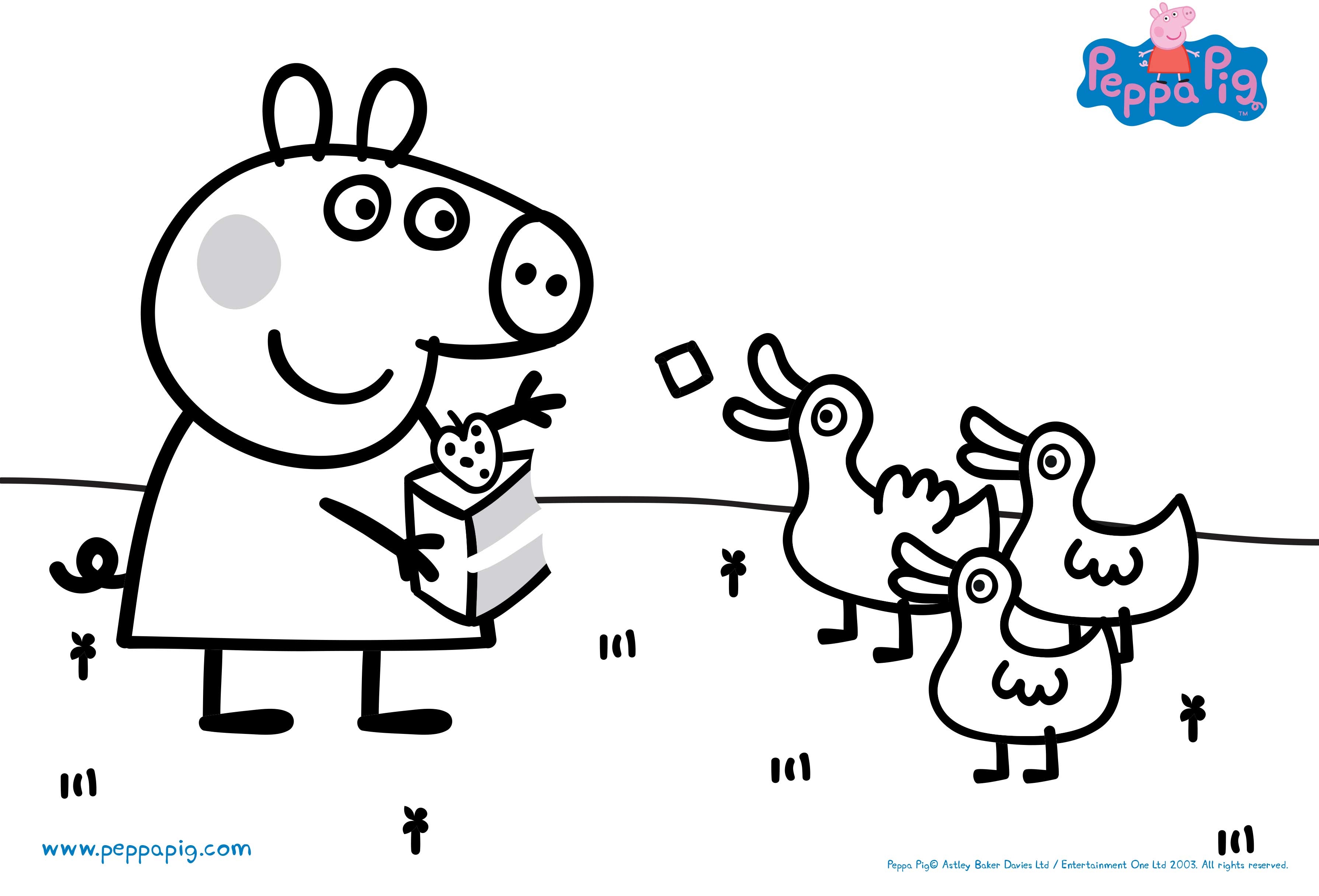 picture relating to Peppa Pig Template Printable referred to as Down load pleasurable actions and coloration-ins in the direction of print out and participate in