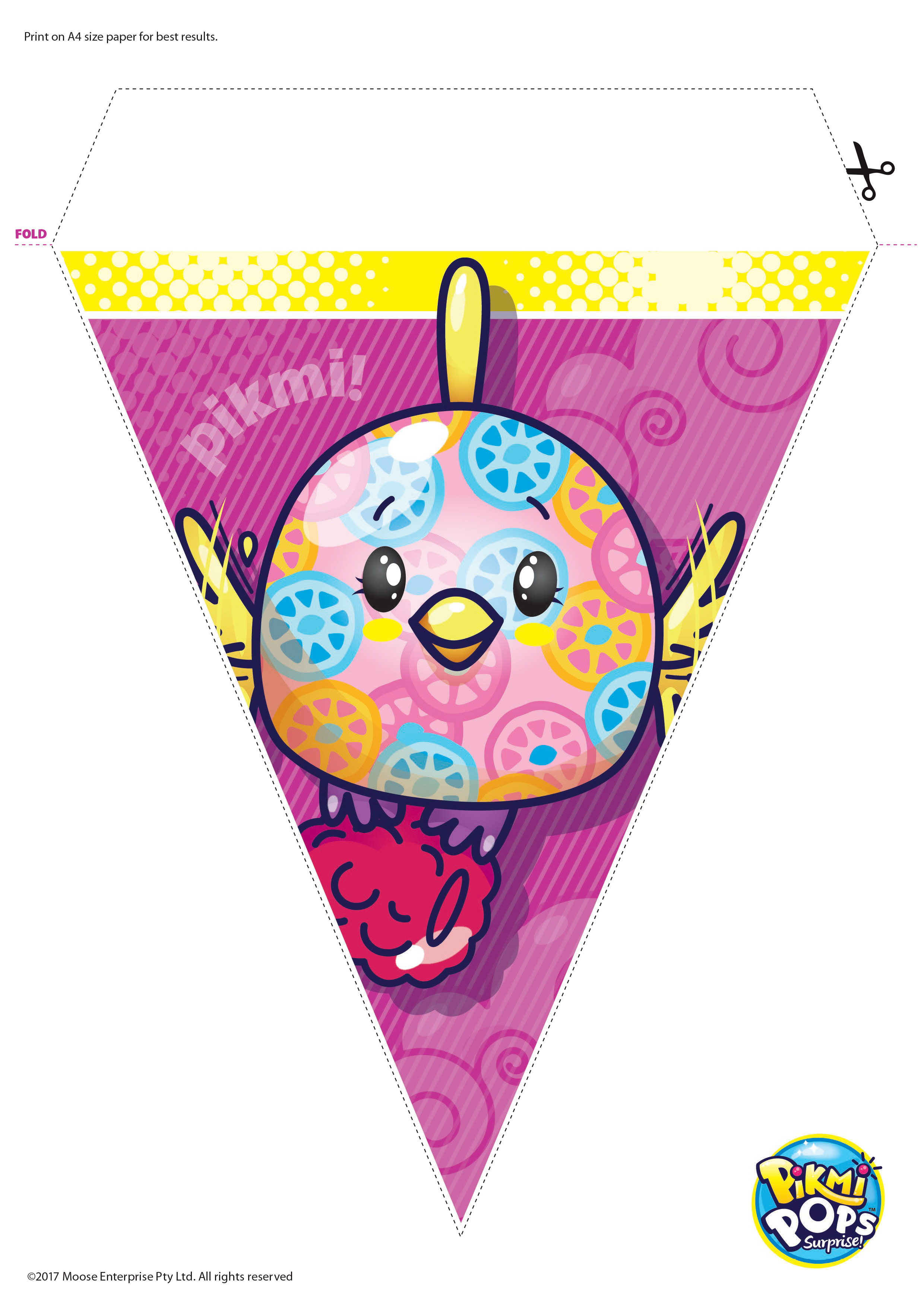 Download fun activities and colorins to print out and play with Pikmi Pops Prima Toys