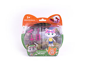 44 Cats - Articulated Figure with Accessory