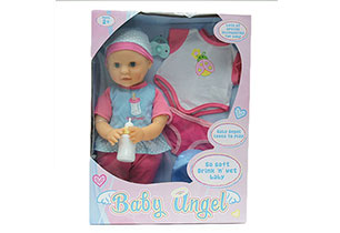 Baby Angel 40cm Drink And Wet Doll