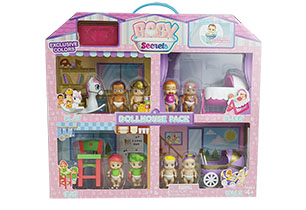 Baby Secrets Doll House Playset