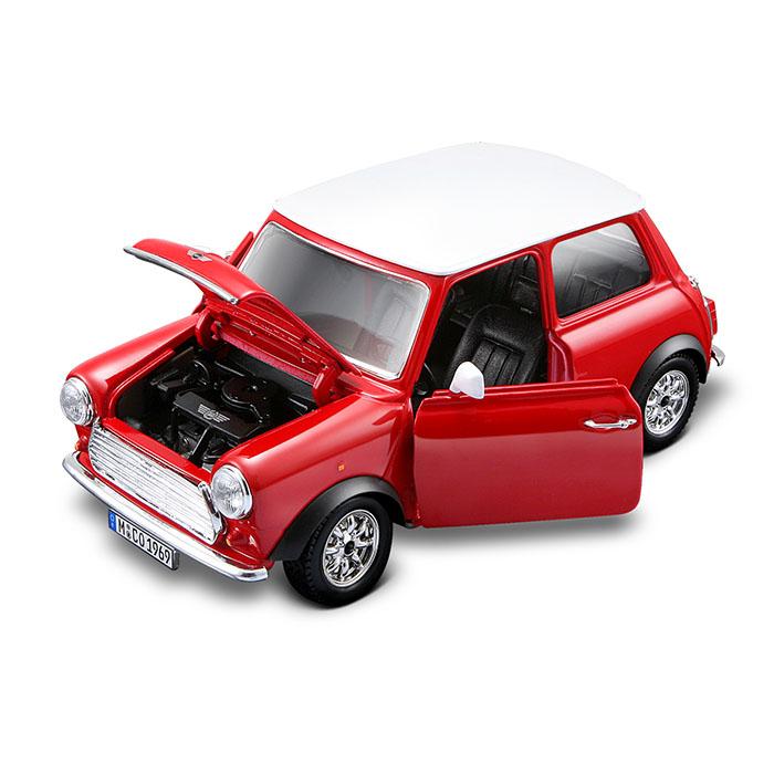 Bburago 1 24 1969 Mini Cooper Bburago Prima Toys