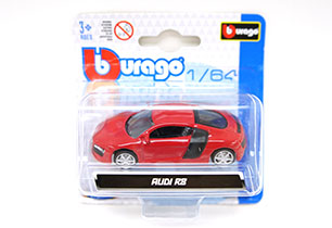 Bburago 1:64 License Assorted In Blister