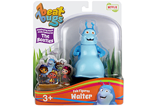 Beat Bugs 8cm Articulated Fab Figures Assorted