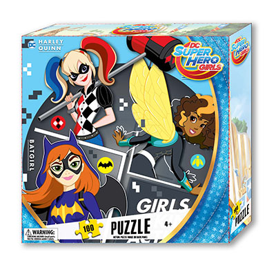 DC Girls Tuck Box  Puzzle