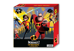 The Incredibles 2 Tuck Box Puzzle