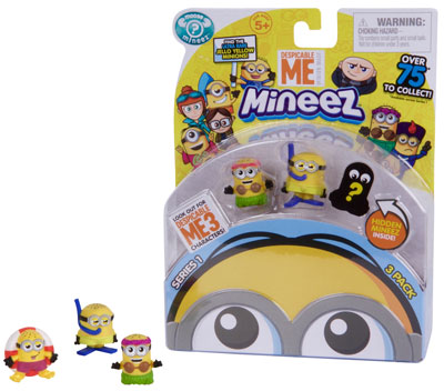 Despicable Me Character 3 Pack