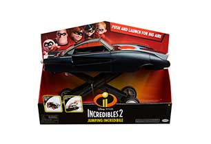 Incredibles 2 Jumping Incredible Vehicle