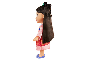 Mulan Toddler Doll With Lens Eye