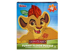 Disney Junior The Lion Guard Furry Floor Puzzle