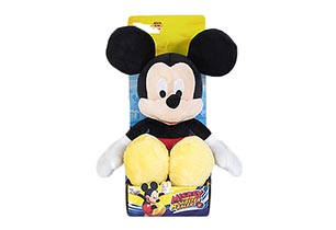 25cm Mickey Classic Plush In Plinth