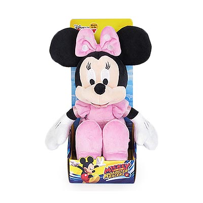 25cm Minnie Classic Plush In Plinth