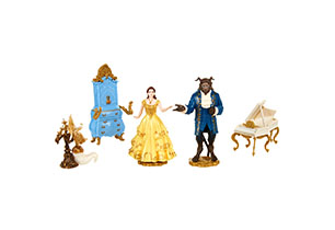 Beauty & The Beast Enchanted Figurine Set