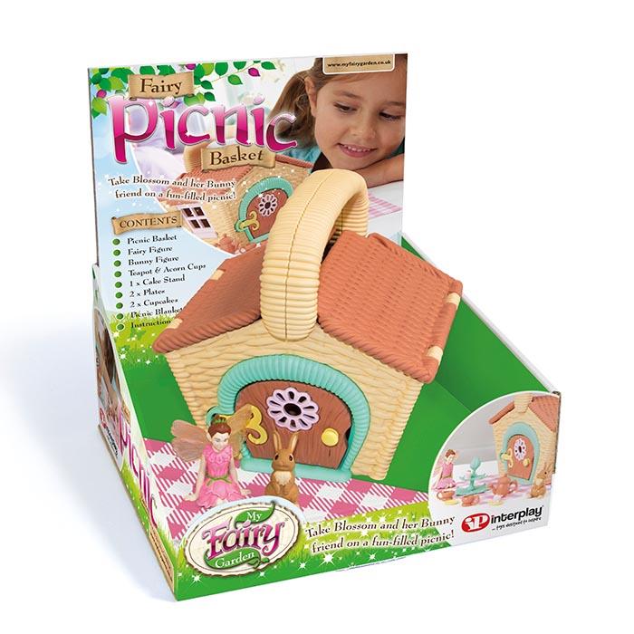 My Fairy Garden   Fairy Picnic Basket ...