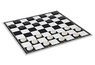 Checkers Draughts Game