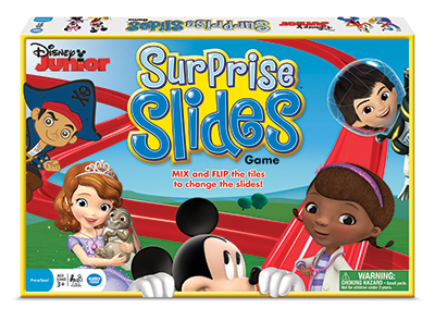 Disney Junior Surprise Slides Game