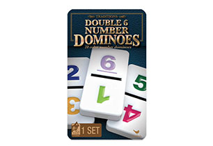 Traditions Double 6 Number Dominoes Game
