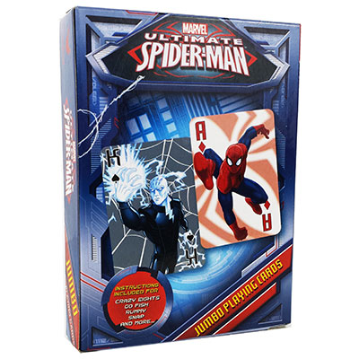 Spiderman Jumbo Playing Cards