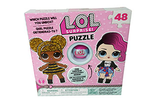 L.O.L Surprise Puzzle With Exclusive Ball