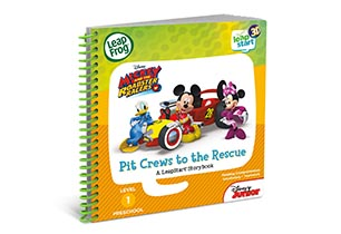 LeapStart Mickey & The Roadsters Storybook