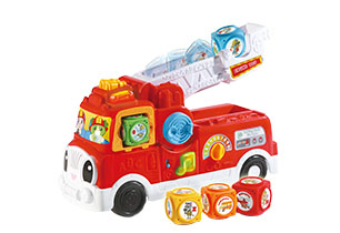 Leapfrog Tumbling Blocks Fire Engine